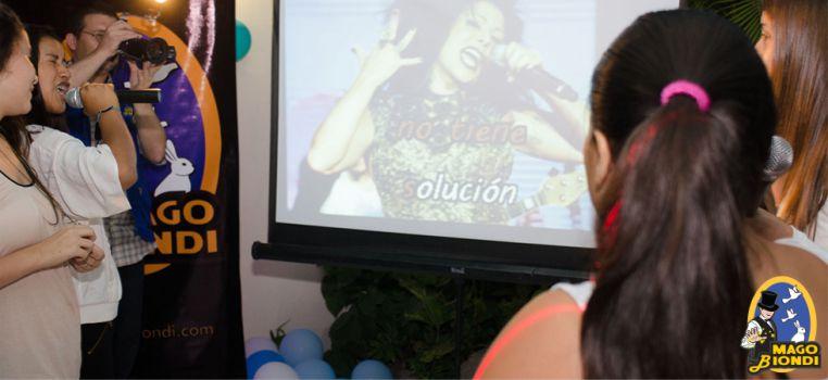 karaoke para fiestas infantiles, karaoke para niños